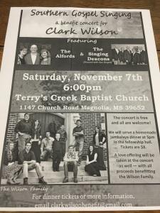 Clark Wilson Benefit