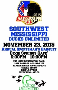 ducks unlimited nov 15