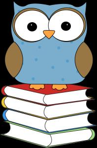 polka-dot-owl-sitting-on-stack-of-books